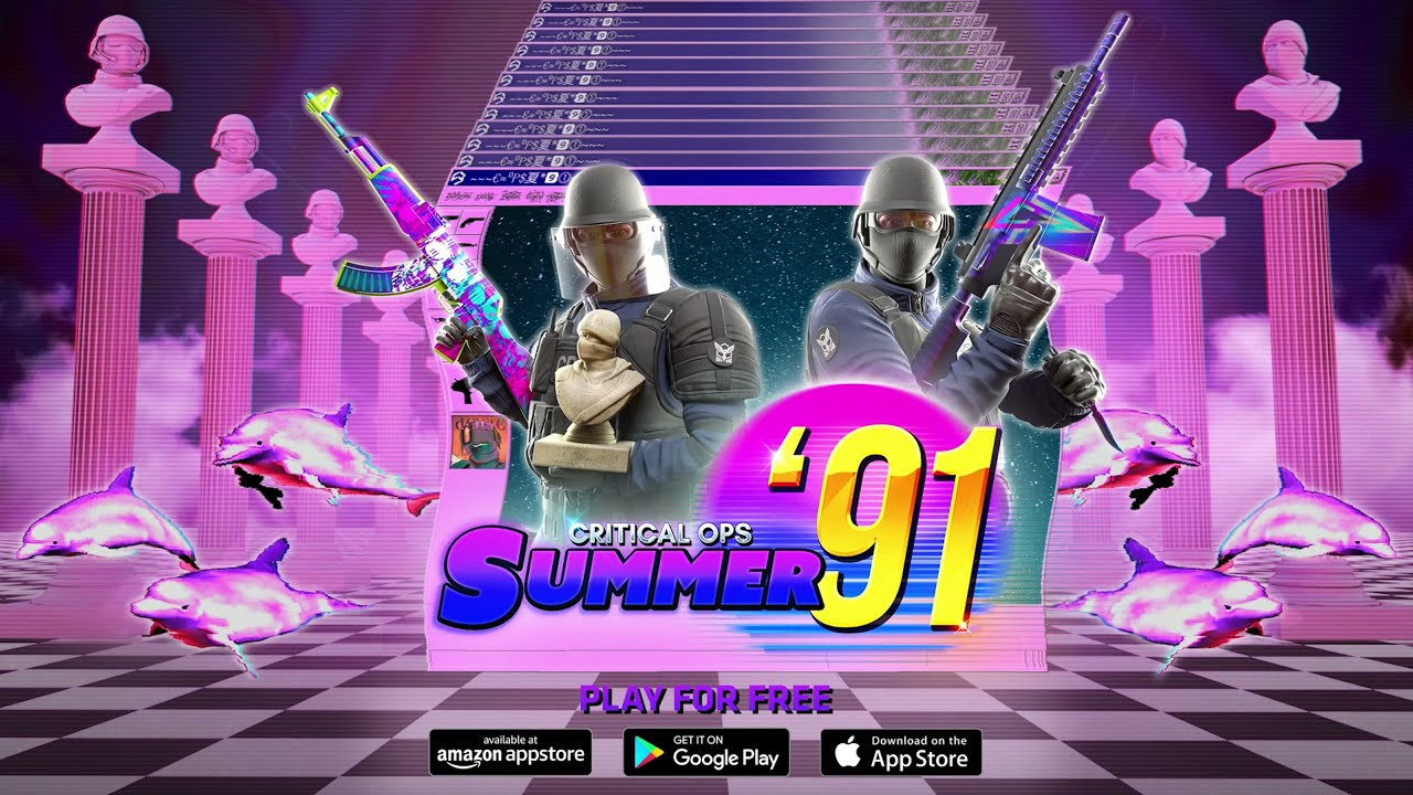 Summer '91 Event Trailer - Critical Ops