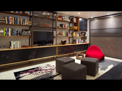 Interior Design — A Small Basement That Maximizes Space