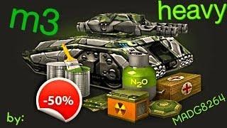 Tankionline| m3 heavy tank kit| by:MADG8264