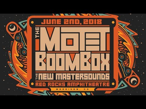 The Motet: Live at Red Rocks 6/2/1018