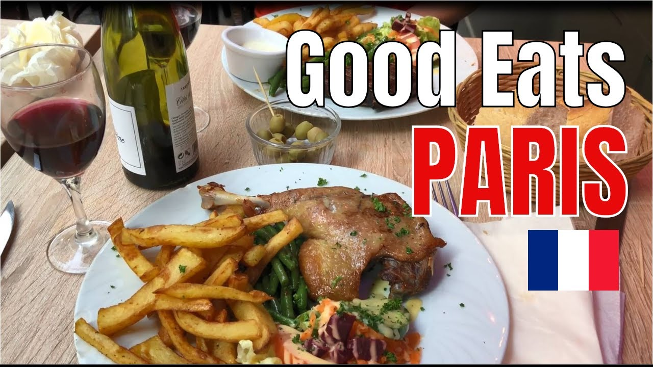 Paris Eating Best French Foods 2018 Youtube