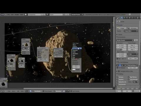 How to Create a Realistic Asteroid using Blender