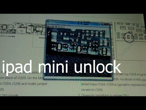 Ipad Mini A1455 - Unlock Icloud Id \ сброс эппл айди методом ковыряния