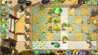 Ооочень легко | Растения против Зомби 2 Древний Египет: 18 уровень