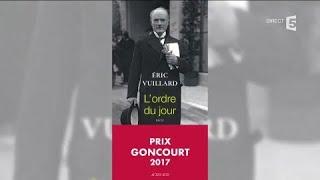 Eric Vuillard, le Goncourt 2017 ! - C à Vous - 06/11/2017