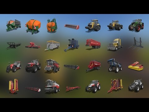 Lets Play Farming Simulator 2017 (PS4) | SHOP AND VEHICLE TOUR