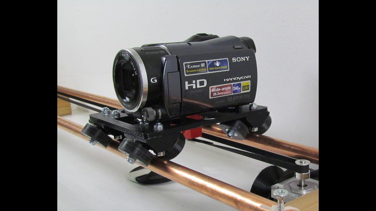 Building a axis arduino camera slider part