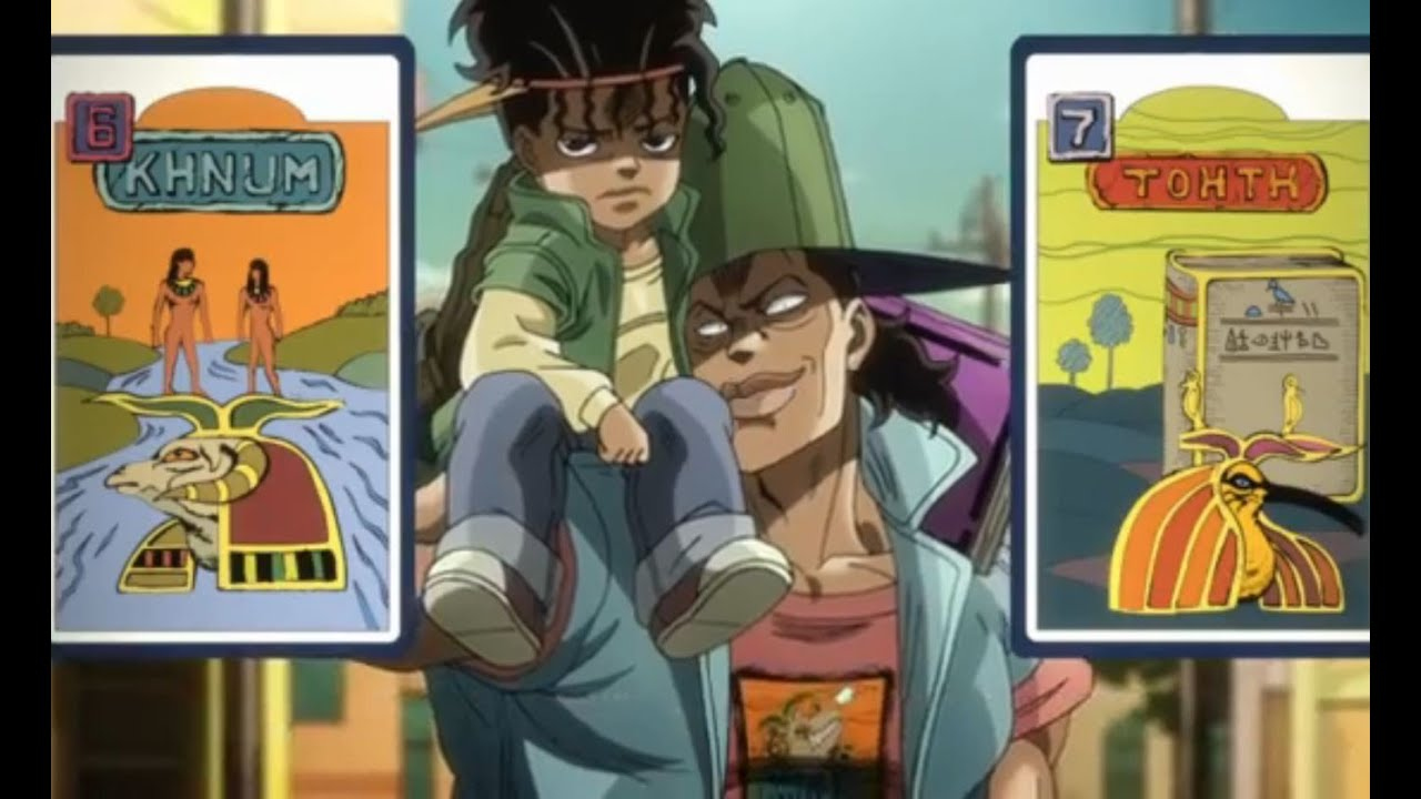 JOJO'S ADVENTURE STARDUST CRUSADERS SEASON 2 EPISODE 3: THE ZENYATTA  MONDATTA BROTHERS! (FUNNY!)