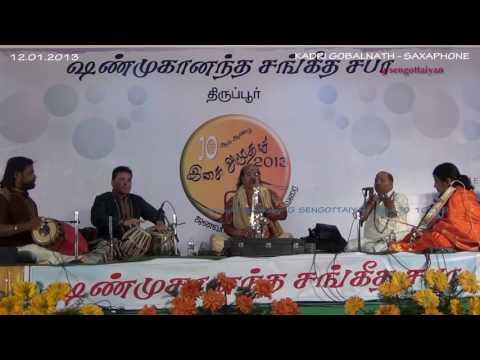 Sacred Aiyappan devotional song - Harivarasanam - Saxaphone - Kadri Gobalnath