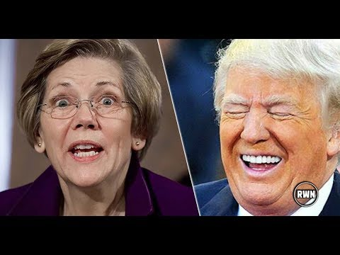 PRICELESS! Elizabeth Warren Crying For Help After 'Real Indian' Enters Race With The Perfect Slogan