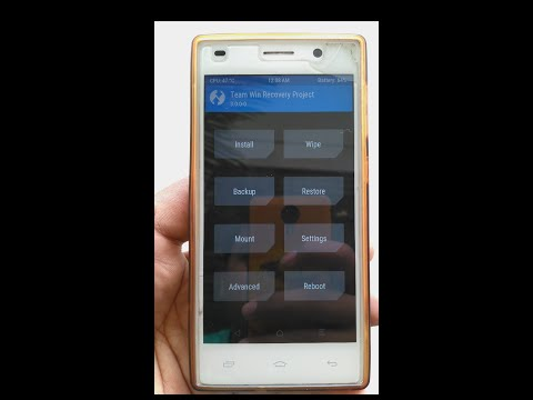 Flash TWRP Recovery On Intex Aqua Power Plus(100% fail proof method)