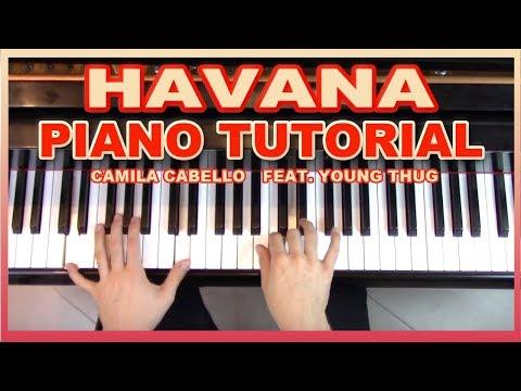 """Havana"" - Piano Tutorial + Sheet Music - Camila Cabello   George Vidal"