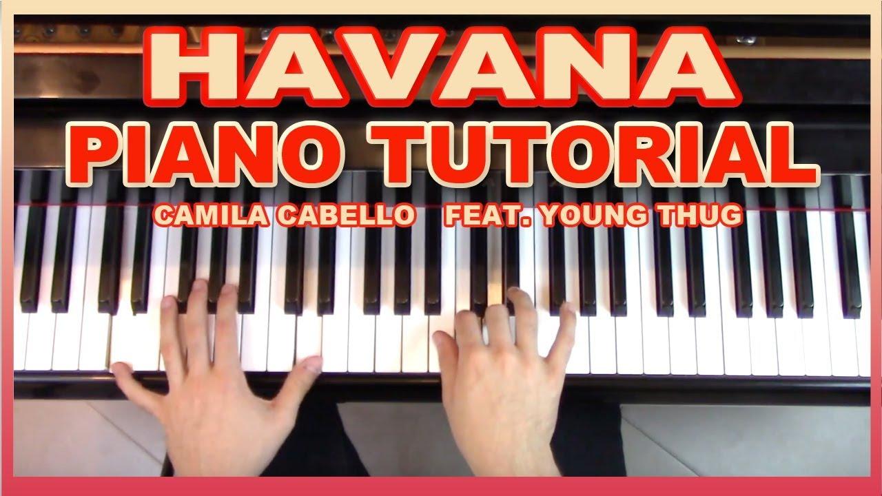 Camila Cabello - Havana Piano Tutorial   MP3JUMP.TK