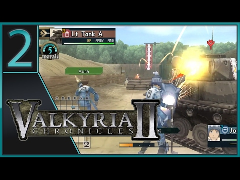 [CO-OP] Valkyria Chronicles II - EP 2 - Multiplayer Is A Go!!