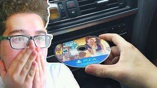 ARABA TEYBİNE PS4 OYUN CD Sİ TAKILIRSA NE OLUR ?