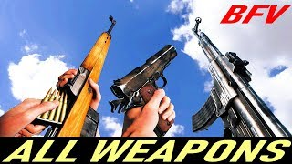 Battlefield 5 - All Weapons / Gun Sounds