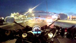 Can a Honda CBR250r keep up on the highway?