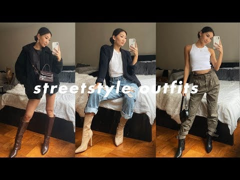 STREET STYLE OUTFITS 🖤
