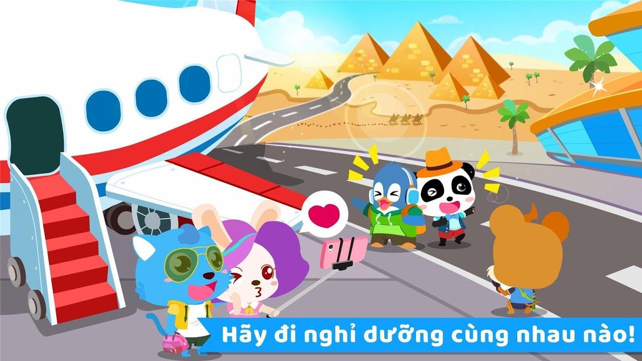 Babybus Gấu Trúc Nhỏ – Sân Bay Của Bé Gấu Trúc – Babytiger for Kids