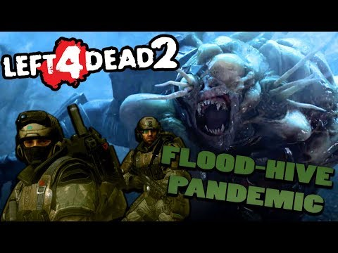 HALO 2 MARINES! - Left 4 Dead 2 Halo Mod Showcase