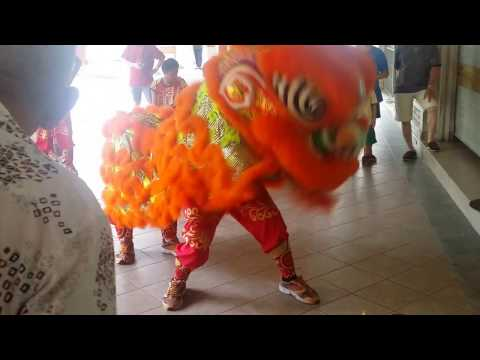 TOTO Hong Bao Draw 2017 Lion Dance by PHB Cultural Association