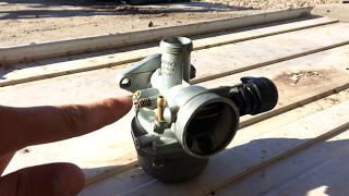 видео Как настроить карбюратор на мопеде Альфа