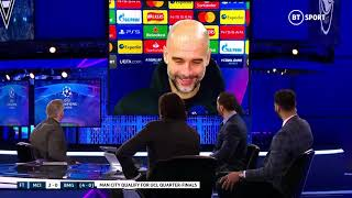 """Four competitions, you HAVE to rotate"" Pep Guardiola on selection policy after City 2-0 Gladbach"