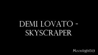 Demi lovato - Skyscraper Karaoke (Piano version)
