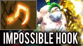 Levkan [Pudge] Epic DRAGONCLAW HOOK Immortal GOLD Arcana Pudge Impossible Hook Dota 2
