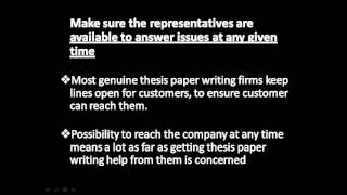 Buy thesis online:5 things To Consider before you can purchase a thesis online