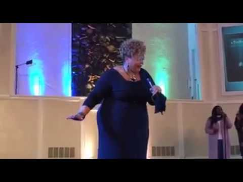 Tamela Mann Ministering at Kingdom Builders Conference