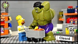 Лего Халк. Неудачный Шоппинг.