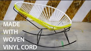 Build a Woven Rocking Chair!  A Super Chill Acapulco Chair