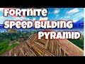 Fortnite Speed building (Loot Lakes Pyramid)