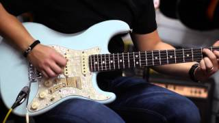 Fender Deluxe Roadhouse Stratocaster in Sonic Blue