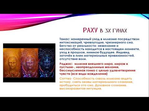 Алгоритм оценки влияния Раху и Кету в гороскопе - Людмила Борисова