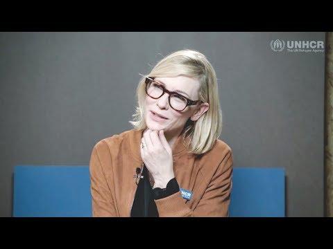 Cate Blanchett is speaking with Aya Abdu  20180122