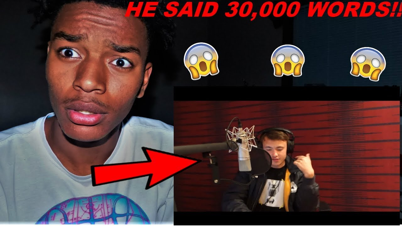 Download Quadeca - 30,000 Word Rap Song! REACTION **WORLD RECORD**