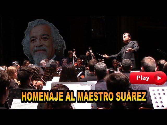 Homenaje al Maestro Antonio Luis Suárez - Gran Teatro de Cáceres