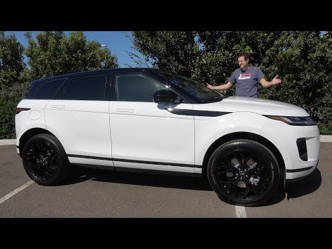 The 2020 Range Rover Evoque Is the New Baby Range Rover