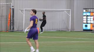 Saginaw Heritage 2021 WR/CB Chris Parker highlights from week 3 of the Rising Stars 7on7 League