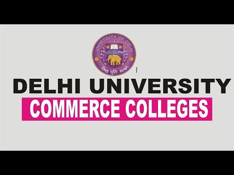 DELHI UNIVERSITY COMMERCE COLLEGE