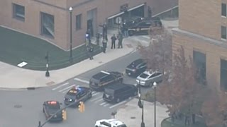 Raw Video: Active Shooter Reported At Ohio State