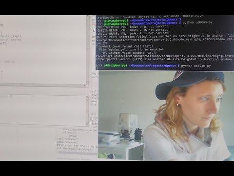 Live streaming CAM with Raspberry Pi 3 & OpenCV (Python code)