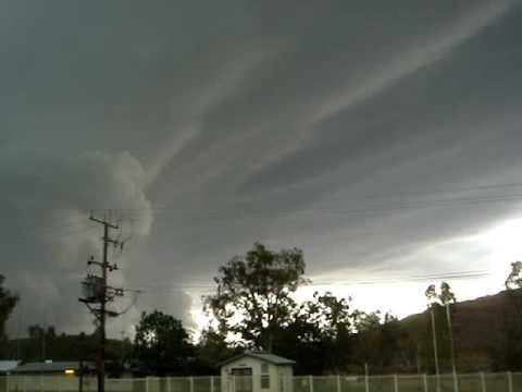 Thunderstorm/lightning in Alice Springs