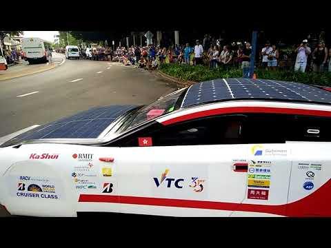 Bridgestone World Solar Challenge - Darwin Starting Line