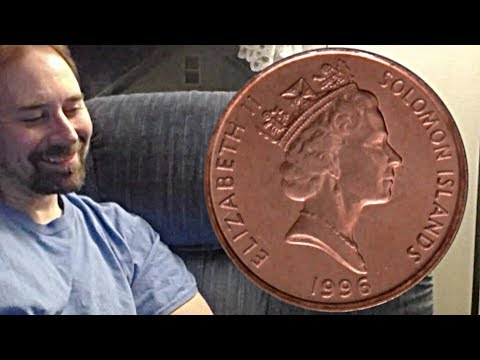 Solomon Islands 1 Cent 1996 Coin