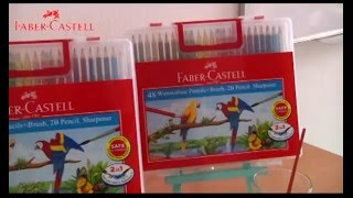 Faber-Castell Water Colour Pencil Tutorial - Glossy Effect