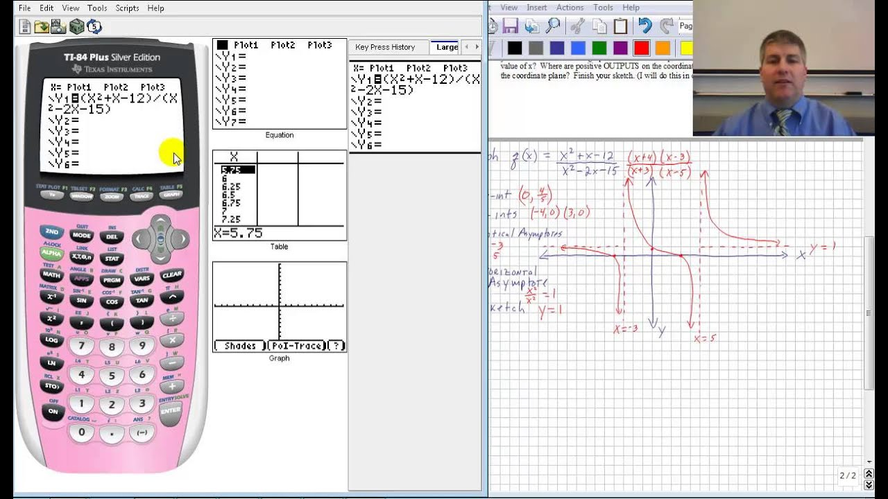 Graphing calculator how to make a table math on the mind for Build my home calculator