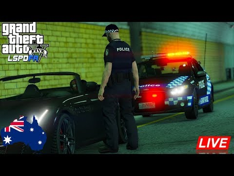 """Do You Know How Fast You Were Going?"" - GTA 5 LSPDFR Australia QPS Road Policing Command XR8"